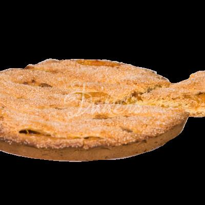 abrikozen linzen vlaai punt eruit