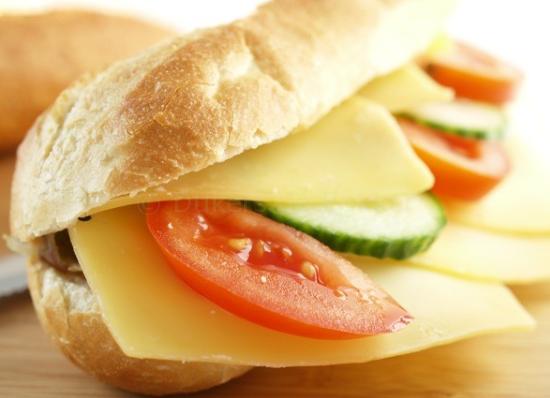 broodje kaas gezond