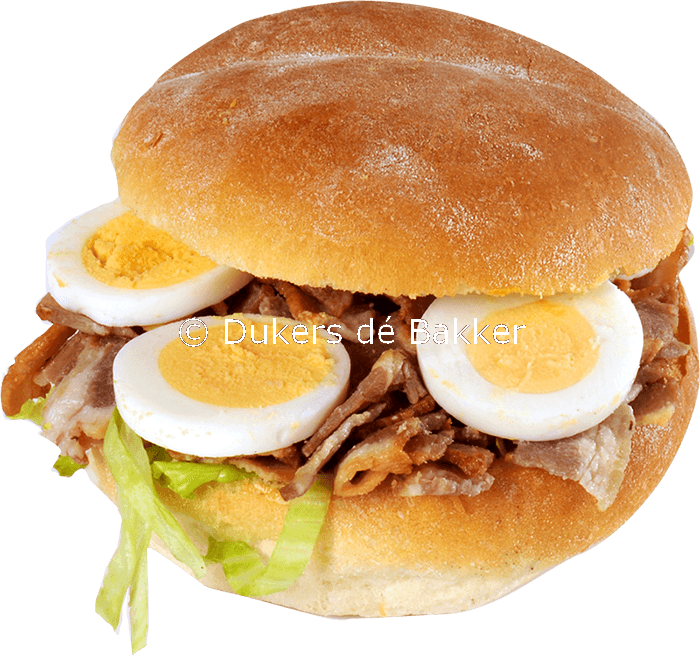 Belegd broodje Bacon Ei
