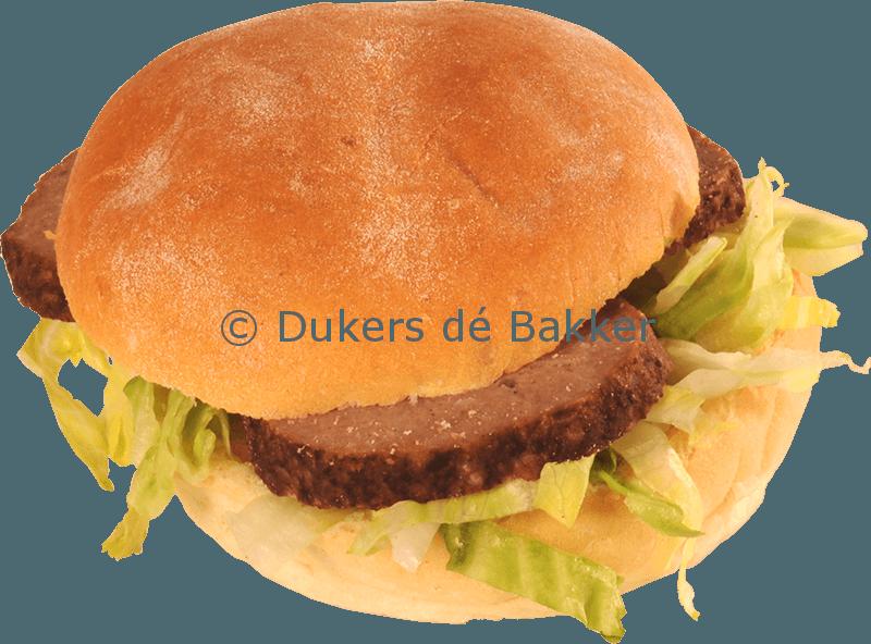 Belegd Broodje Boeren (met gehaktbal)