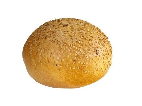 Krokant broodje sesam wit