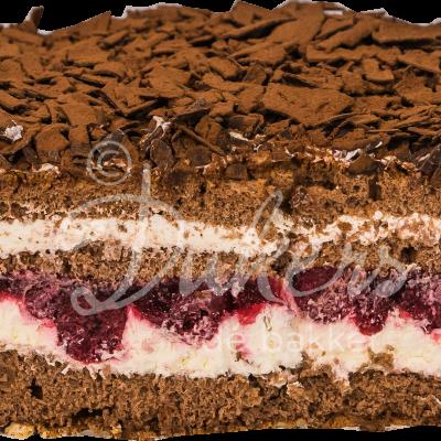 schwarzwalder kirsch taart half