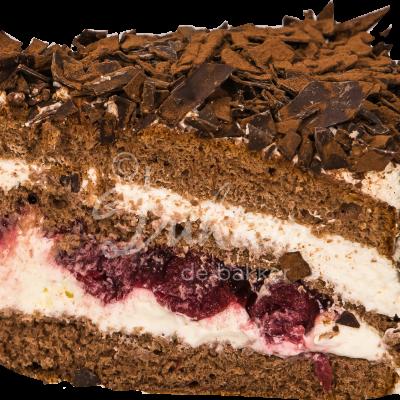 schwarzwalder kirsch taart punt