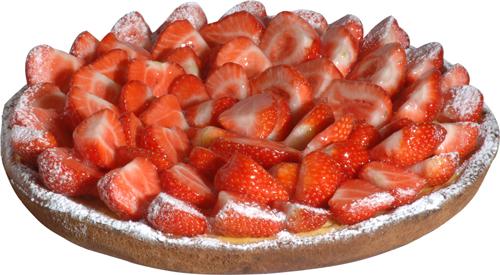 aardbeien gistdeeg