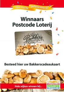 Postcode Loterij Bakkerscadeaukaart