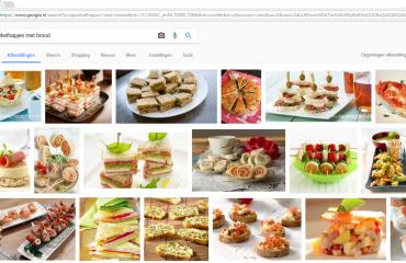 aperatief hapjes met brood