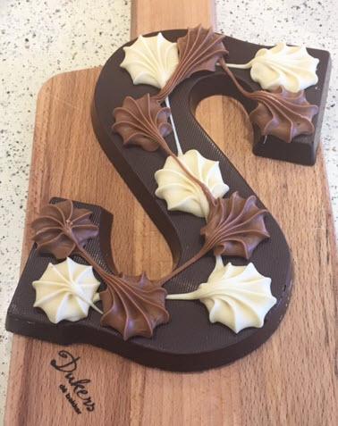 chocoladeletter puur