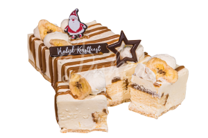 04055 bantoffee taartje gesneden